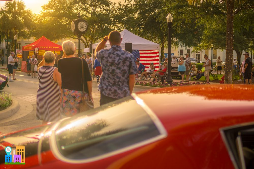 July Downtown Leesburg Cruise In Car Show Photos
